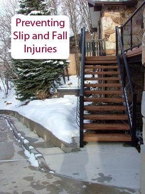 preventing slip and falls
