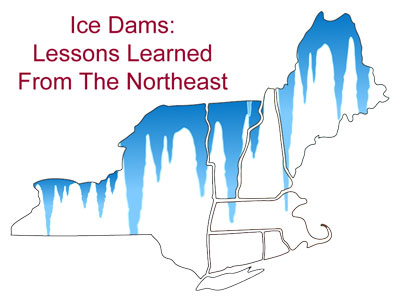 Ice Dams Northeast