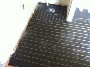 when you hear about radiant heating what do you picture many people think of pipes beneath the surface carrying hot water or some other fluid