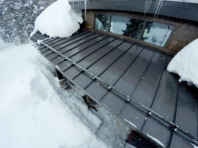 Metal Roof Deicing
