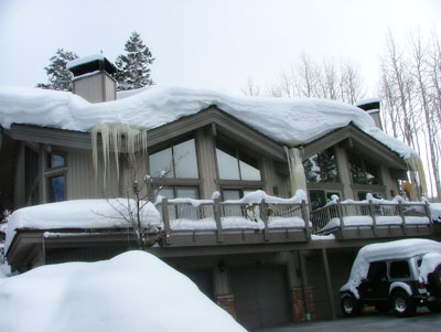 Heated Roof Systems Melt Ice Dams Roof Deicing Warmquest