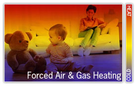 forced air gas heating