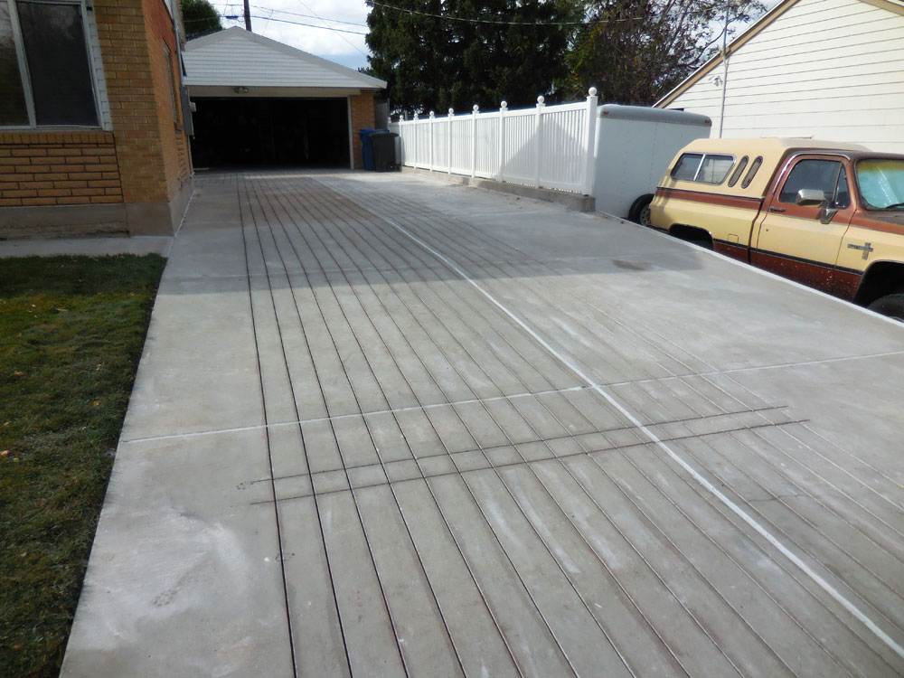 Heated Existing Driveway Washington Terrace Ut Warmquest