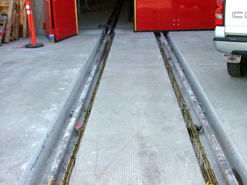 heated rails