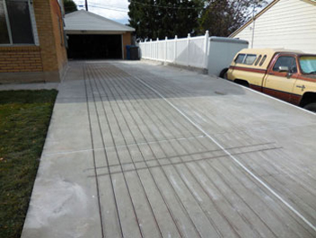Installing heated driveways and snow melting systems warmquest heated driveway sawcuts solutioingenieria Choice Image