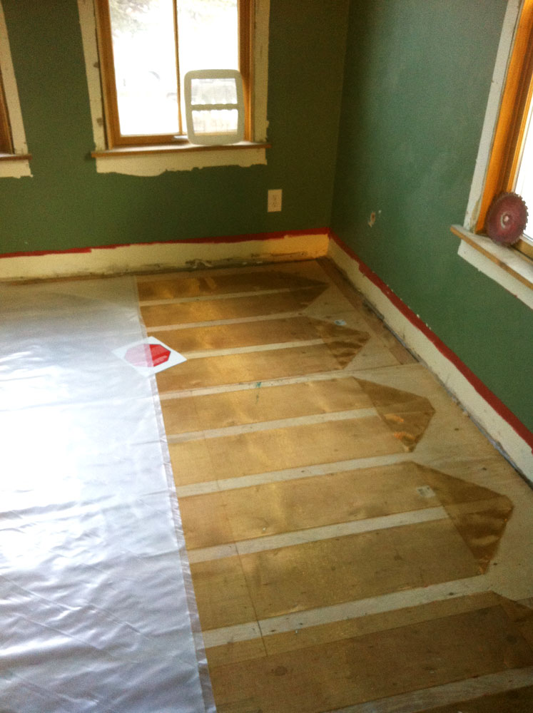 ... Click To Enlarge Image Installing Heated Floors ...