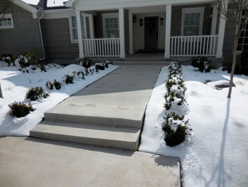SnowMeltz provide DIY friendly sidewalk heat