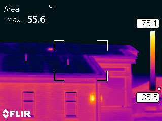 ... Click To Enlarge Image Infrared Heated Roof ...